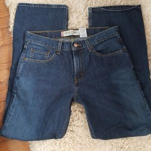 Levi's 529 Blue 32W x 32L Bootcut Jeans